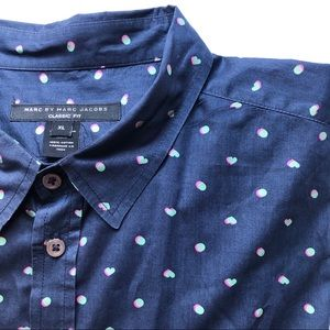 Marc by Marc Jacobs Classic Fit Short Sleeve
